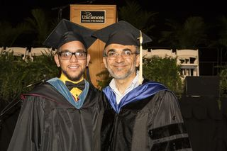 Ahmad and Salar_graduation