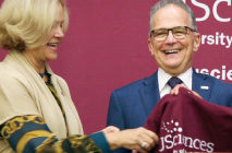 USciences Welcomes Its 25th President