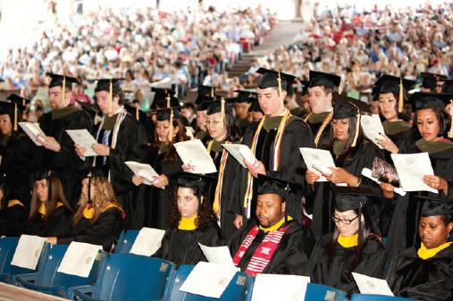 Scenes from Commencement 2011